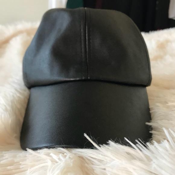e2a48bae1 Fashion Nova Accessories | Faux Leather Dad Hat | Poshmark